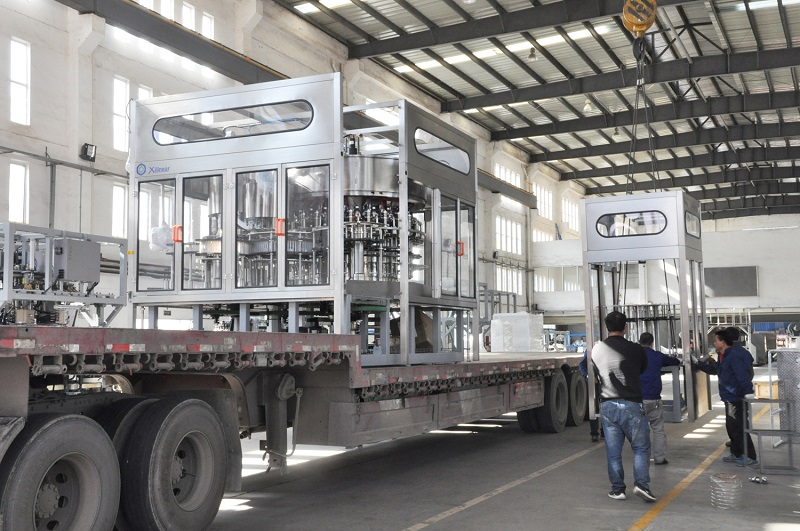 Blowing-Filling-Capping Combiblock Is Popular In China