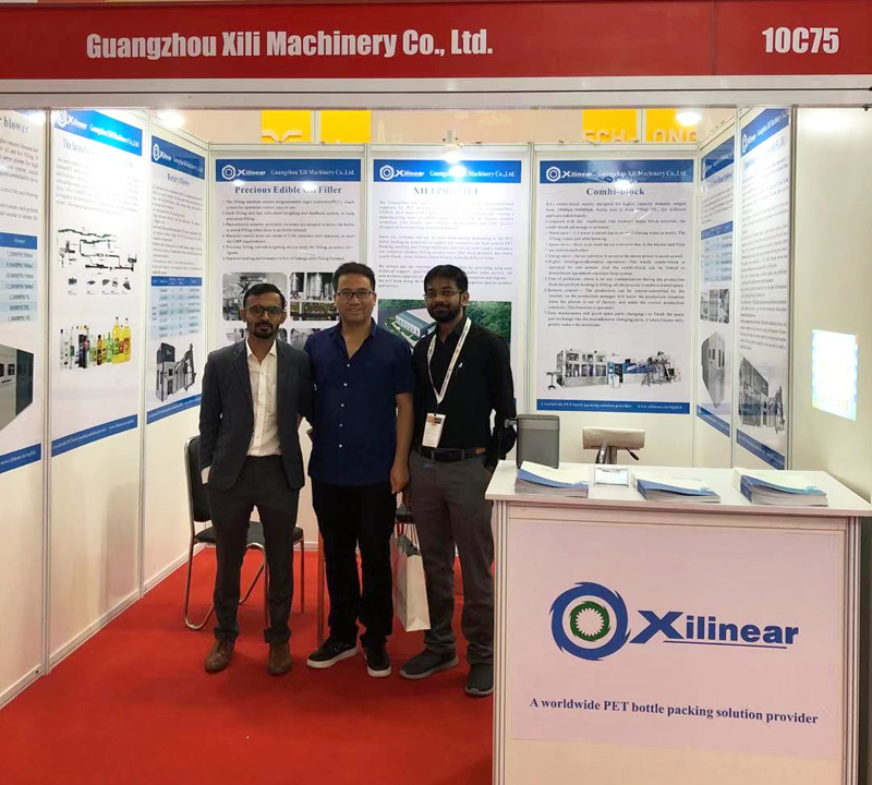 Bottle Blowing Machine Manufacturer——Guangzhou Xilinear At New Delhi Packaging Exhibition, India