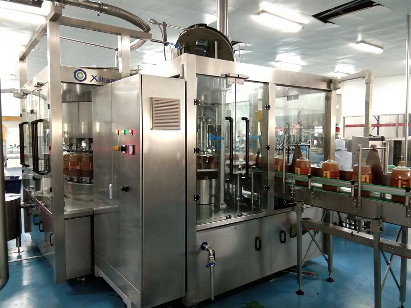 The XLO Series Of Oil Filling Machines Are Sold At Home And Abroad